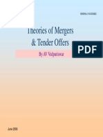 98178903 Theories of Mergers and Tender Offers