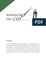 El Romancero Del Cid