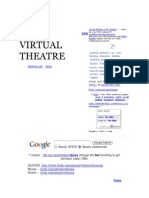 virtual theatre with anatoly