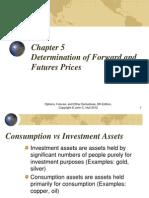 Determination of Future & Forward Rates