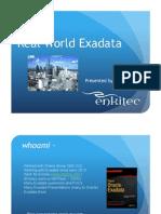 Enkitec-RealWorldExadata