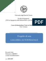 Infrastrutture Viarie in Sotterraneo - Progetto