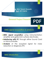 EMG SIgnal Acquisition