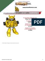 Mi información en Bot Shots de Transformers