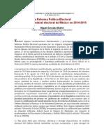 - ART.MGM Blog - Reforma Político-Electoral de México 2014-02-20