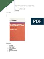 150514720 Tehnica Farmaceutica Pentru Cadre Medii de Cornelia Fica