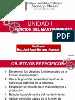 Clase Unidad 1 - Funcion Mantenimiento