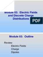 MIT Electric Field Notes, Electric Fields and Discrete Charge Distributions (2)