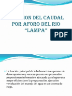 mediciondelcaudalporaforodelrio-131203052951-phpapp02