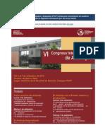VI Congreso Nacional de Arbitraje -- PUCP