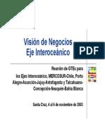 Vision de Negocios Eje Interoceanico.pdf