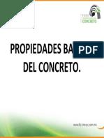 Propiedades Basicas Del Concreto