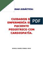 CUIDADOS de enfermeía en el paciente pediátrico con cardiopatía