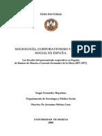 Fernandez Riquelme - Tesis Sobre El Estado Corporativo