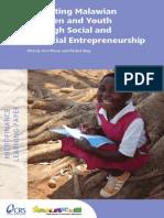 Malawian Youth and Entrepreneuship