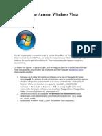 Cómo activar Aero en Windows Vista Home Basic