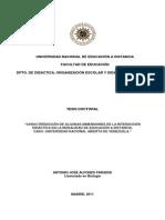 CARACTERIZACIÓN DE ALGUNAS DIMENSIONES DE LA INTERACCIÓN DIDÁCTICA EN LA MODALIDAD DE EDUCACIÓN A DISTANCIA