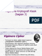 6.Algoritma Kriptografi Klasik (Bag 3)