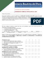 formulario Referencias