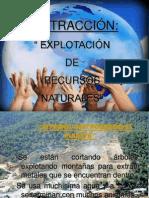 explotacion recursos naturales