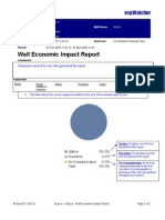 Well Economic Impact Report