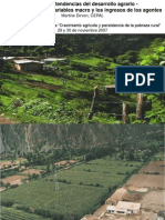 desarrollo agrario