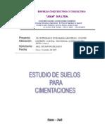 INFORME SUELOS CCATCA