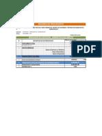 Resumen de Presupuesto de Obra y g.g. 2013