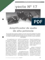 Proyecto de Aula 3 Amplificador de 20w