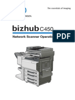 C450 Network Scanner Operations 1-1-0 En