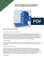 Compactador de basura para buques.doc