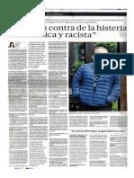 Entrevista a Beto Ortiz en El Diario El Comercio