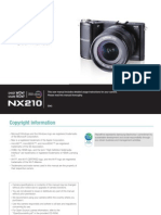 Samsung NX210 Camera Manual