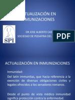 Actualizacion en Inmunizaciones