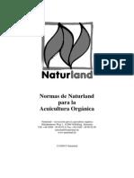 Naturland Normas ACUIcultura Organica 2009 11