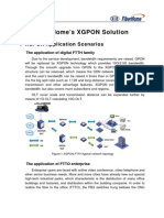 FiberHome's XGPON Solution