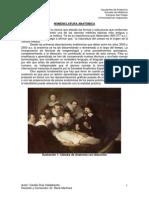001 Generalidades - Nomenclatura Anatómica