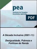 A década inclusiva, de Marcelo Neri