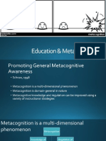 Education & Metacognition
