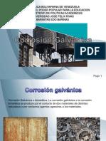 Present Ac i on Corrosion Galvanic A