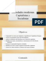 Sociedades Modernas Capitalistas y Socialistas