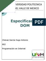 Especificación DOM