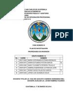 T. 27 PROPIEDADES DE INVERSIÓN plan de investigación