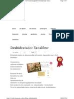Deshidratador Excalibur
