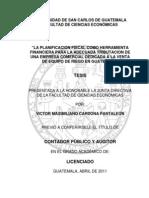 TESIS PLANIFICACIÓN FISCAL