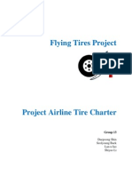flying tires project