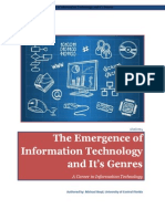 the emergence of information technology