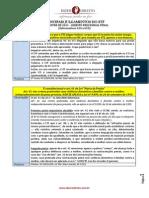 Principais Julgados de 2011 - 1o Semestre - Processo Penal