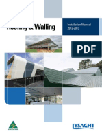 Roofing Walling Installation Manual March 2012