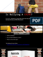 Is Bullying a CRIME?